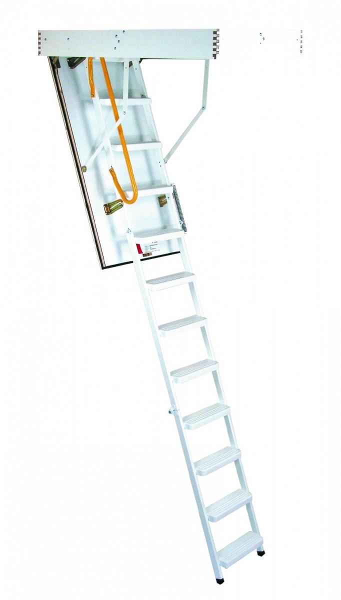 Лестница чердачная MINKA Steel 120х70
