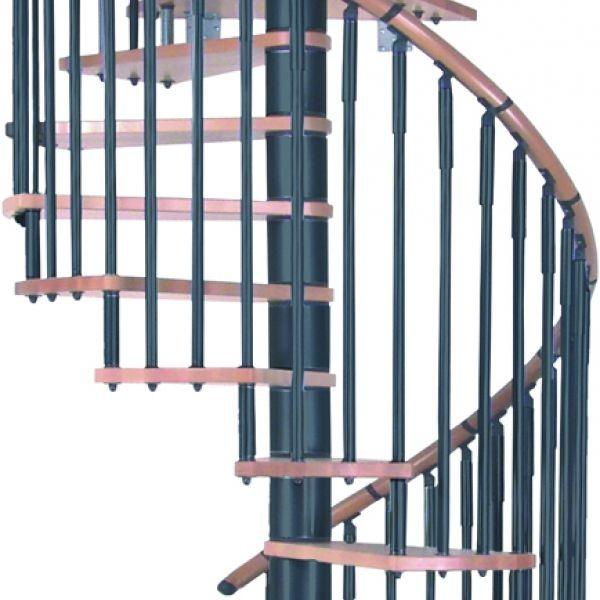 Балюстрада круговая MINKA Spiral Decor черный