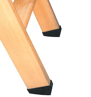 Защитные насадки на ножки чердачных лестниц