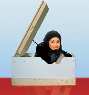 Термоизоляционный люк MINKA Plus 87 120х70 (МДФ)