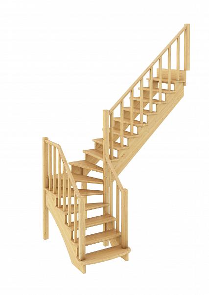 Лестница  К-021м  П  сосна (6 уп)