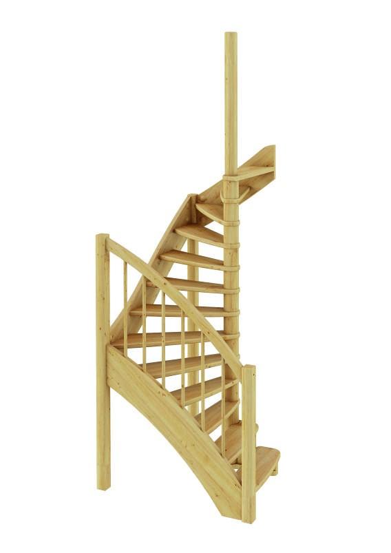Лестница  ЛС-04м П сосна (4 уп)