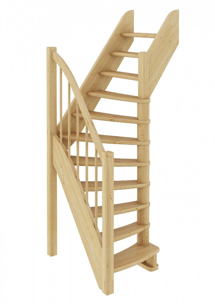 Лестница  ЛС-91м П, сосна  (3 уп)